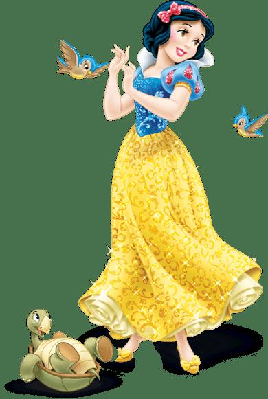 Imágenes de Blancanieves para imprimir gratis.