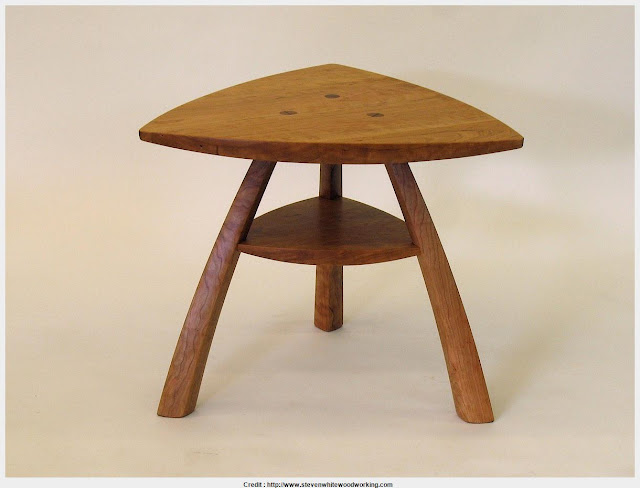 Top Photo of Triangle End Table HD