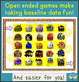 Open ended games make taking data fun!