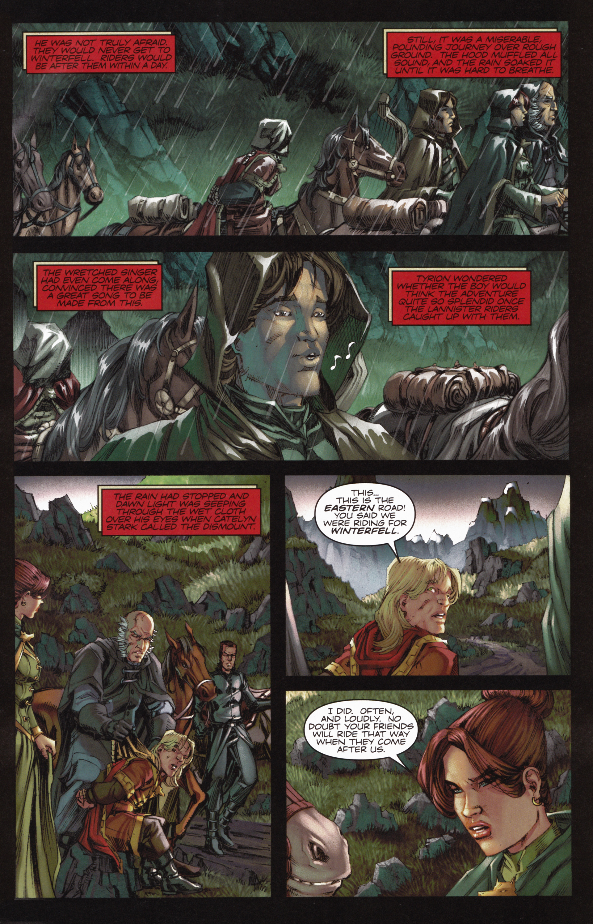 Read online A Game Of Thrones comic -  Issue #10 - 5