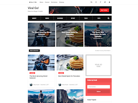 Viral Go - Responsive Blogger Template