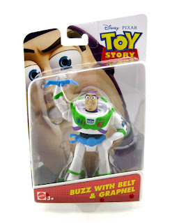 toy story buzz with utility belt and grapnel figure mattel