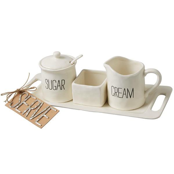 Bistro Cream and Sugar Set