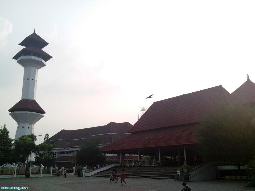 Profil Masjid Agung As - Tsaurah, Serang - Banten