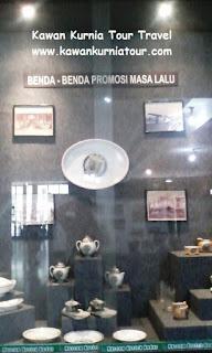 alat promosi jadul dalam museum kretek kudus