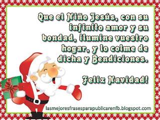 Frases De Navidad: Que El Niño Jesús Con Su Infinito Amor