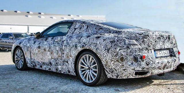 2018 BMW 8-series Spied