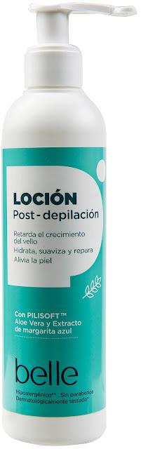 belle Locion Postdepilacion
