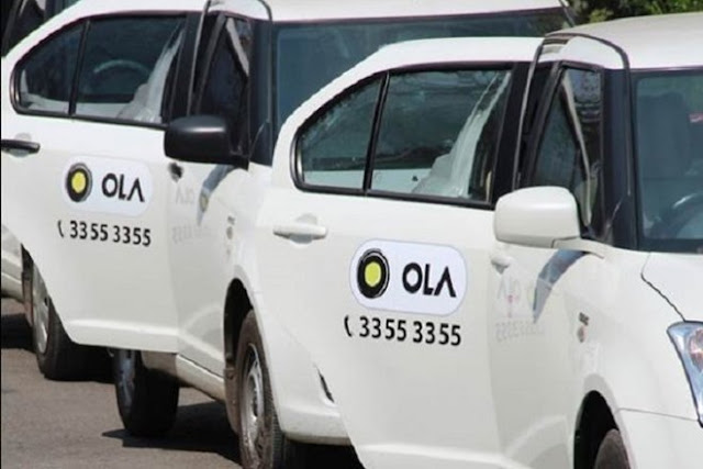 Ola Launches Cashless Ride Facility In India