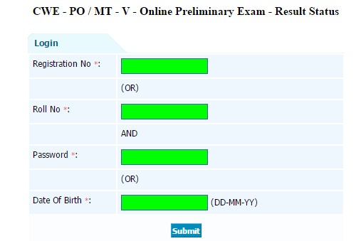 IBPS PO Preliminary Results Out www.ibps.in