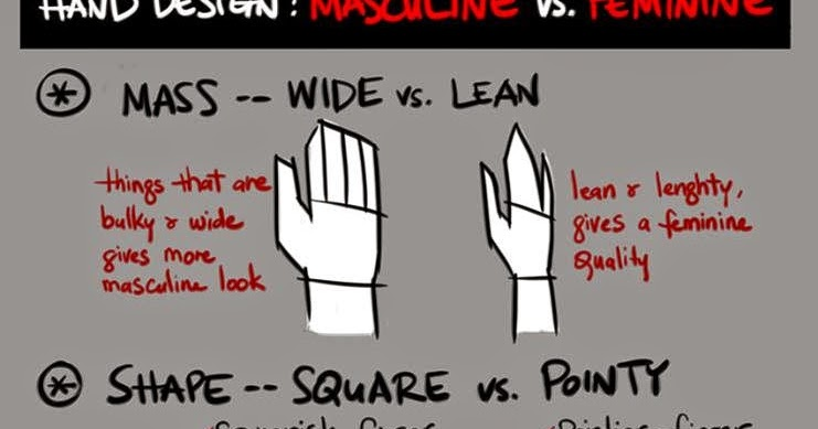 How To Draw Hands Masculine & Feminine Art So Nice And Easy Tips