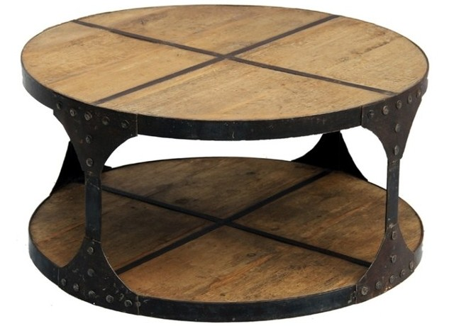 DIY Unique Round Coffee Tables From Recycled Materials ...