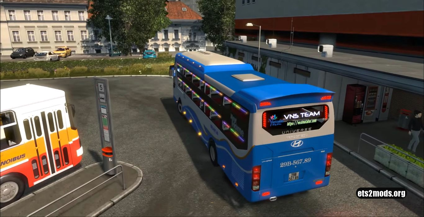Hyundai Universe Tracomeco Noble Bus