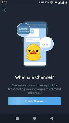 New Channel Telegram - ITSTAFF.web.id