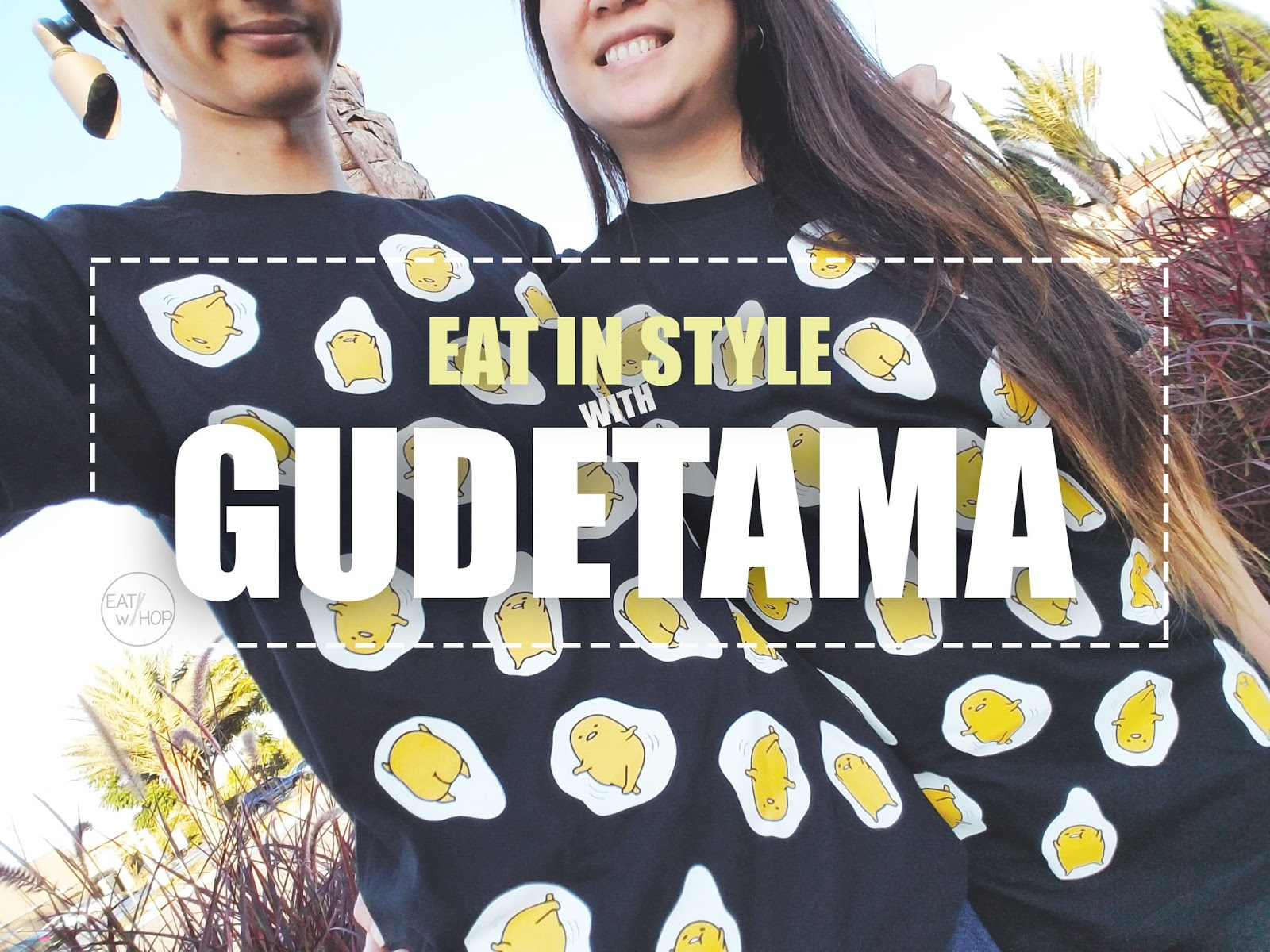 I'm Egg-Static About Our New Matching Gudetama Couple Shirts!