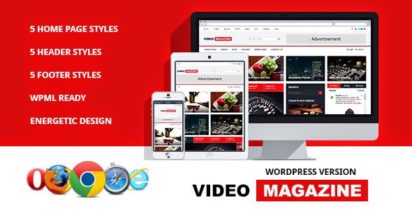 themeforest video theme