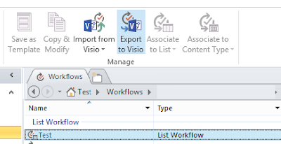 How to Export and Import SharePoint Designer Workflows.