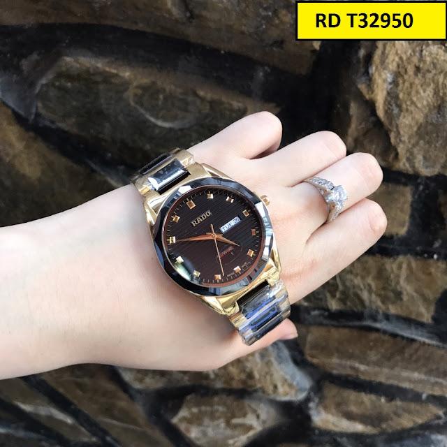 Đồng hồ nam Rado RD T32950 thiết kế tinh xảo, cao cấp, máy Nhật Bản