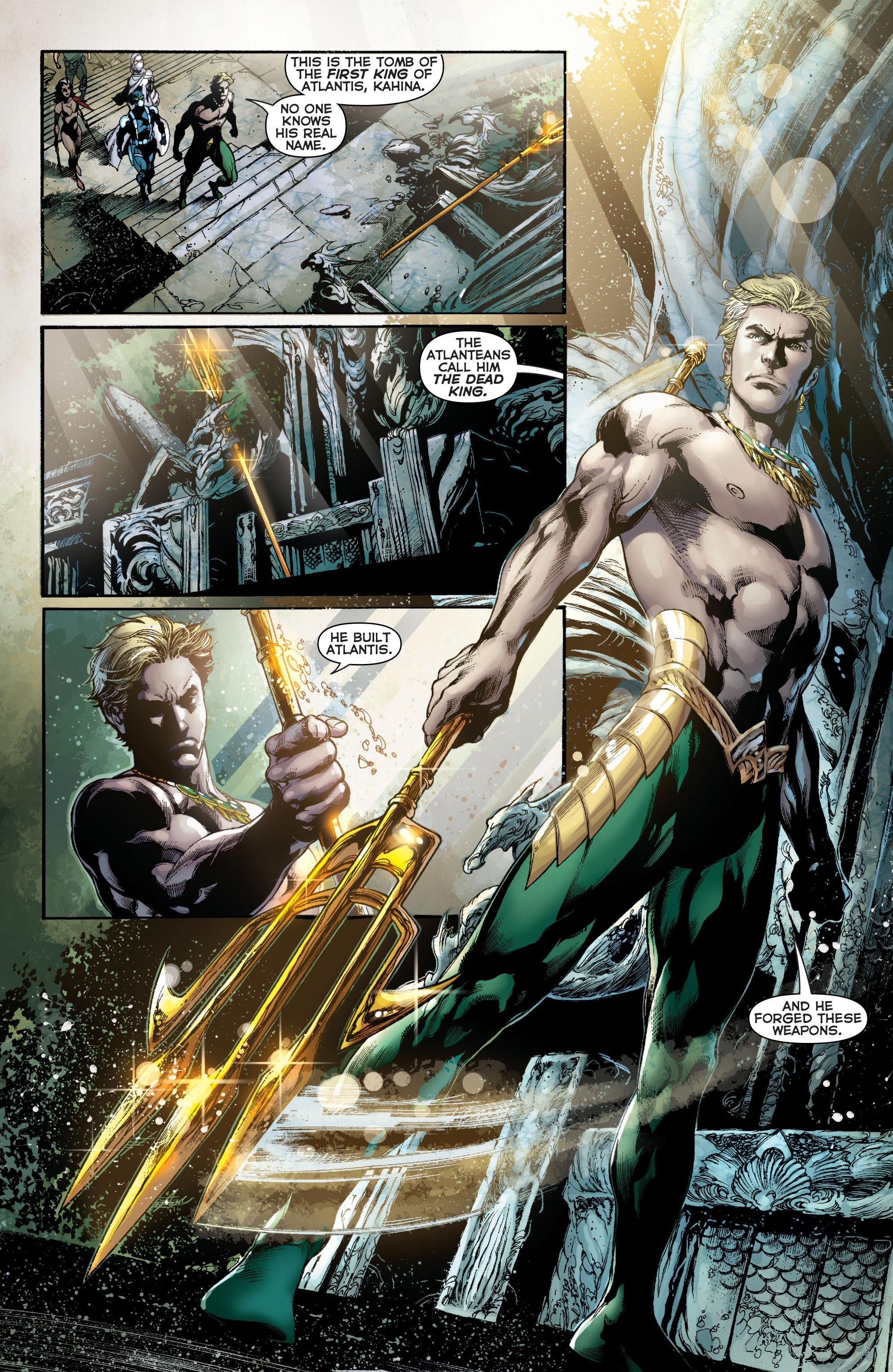 Read online Aquaman (2011) comic -  Issue #11 - 3