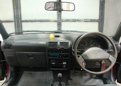 Interior Toyota Starlet Kapsul XL dan SE