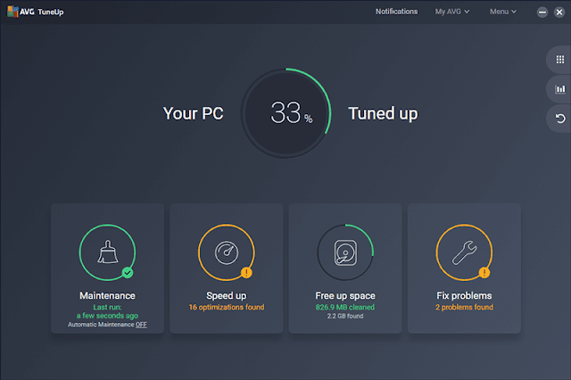 Avg tuneup 2019 crack for windows
