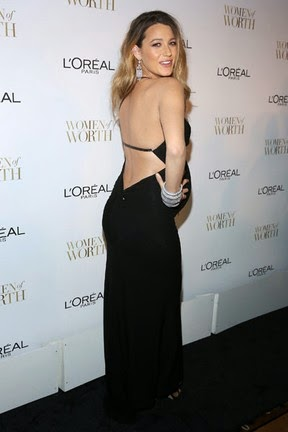 Blake Lively wears sexy dress