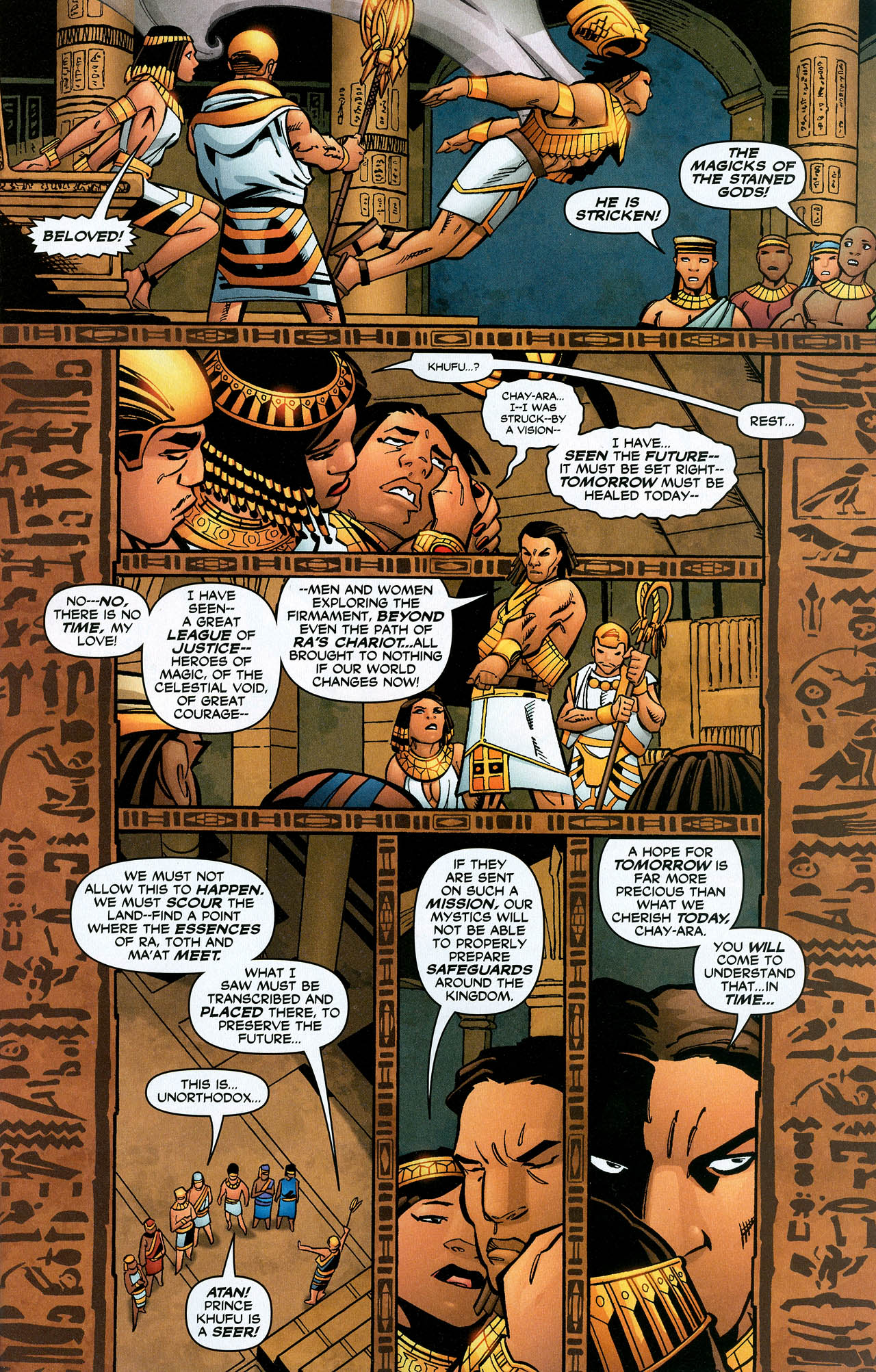 Read online Trinity (2008) comic -  Issue #22 - 8