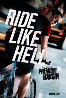 Poster Of Premium Rush In Dual Audio Hindi English 300MB Compressed Small Size Pc Movie Free Download Only At worldfree4u.com