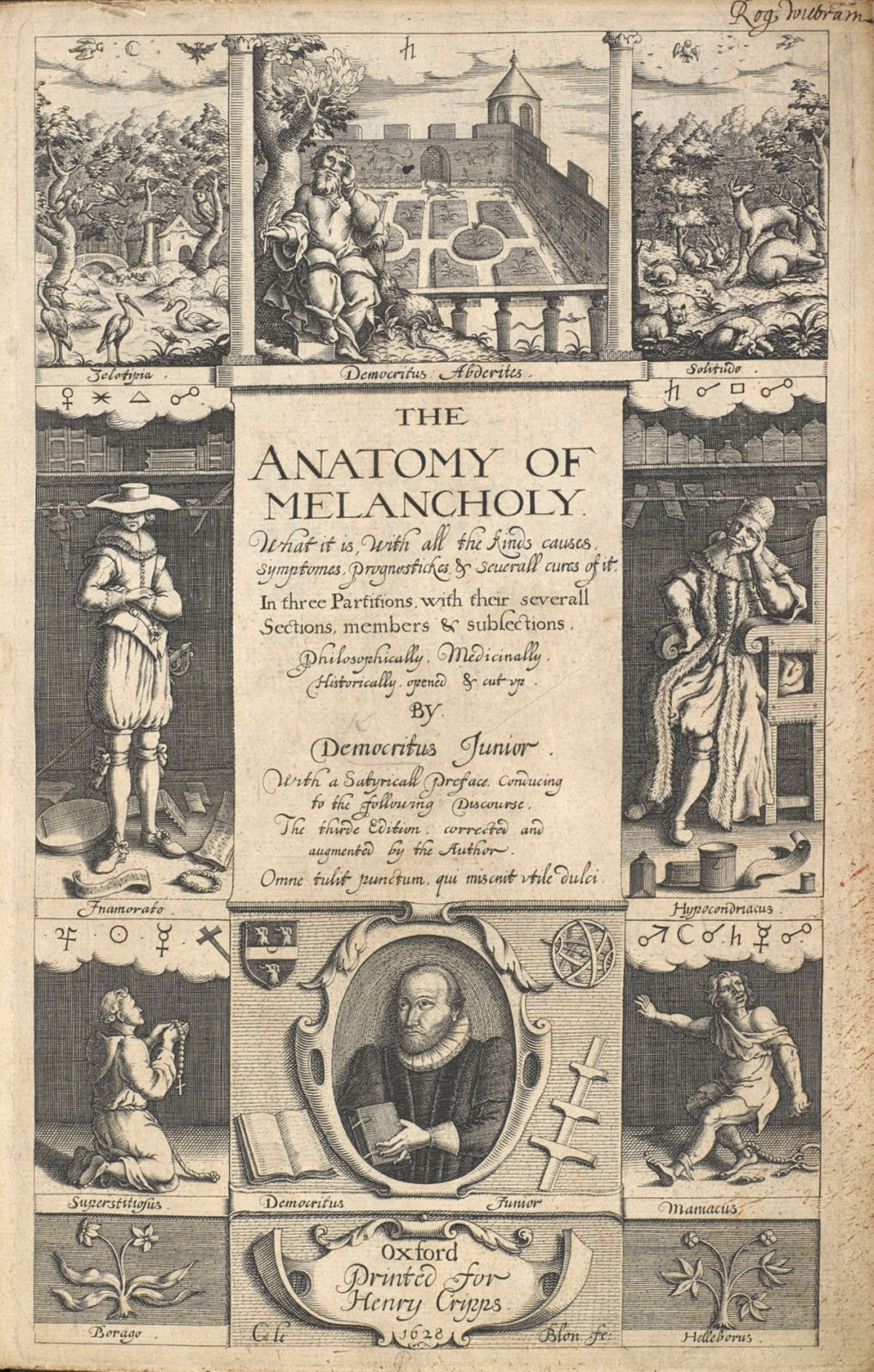 Data Deluge: The Anatomy of Melancholy (1628)
