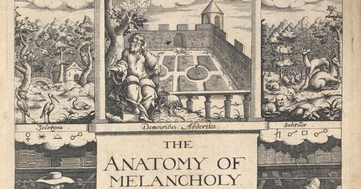 Data Deluge: The Anatomy of Melancholy (1628)