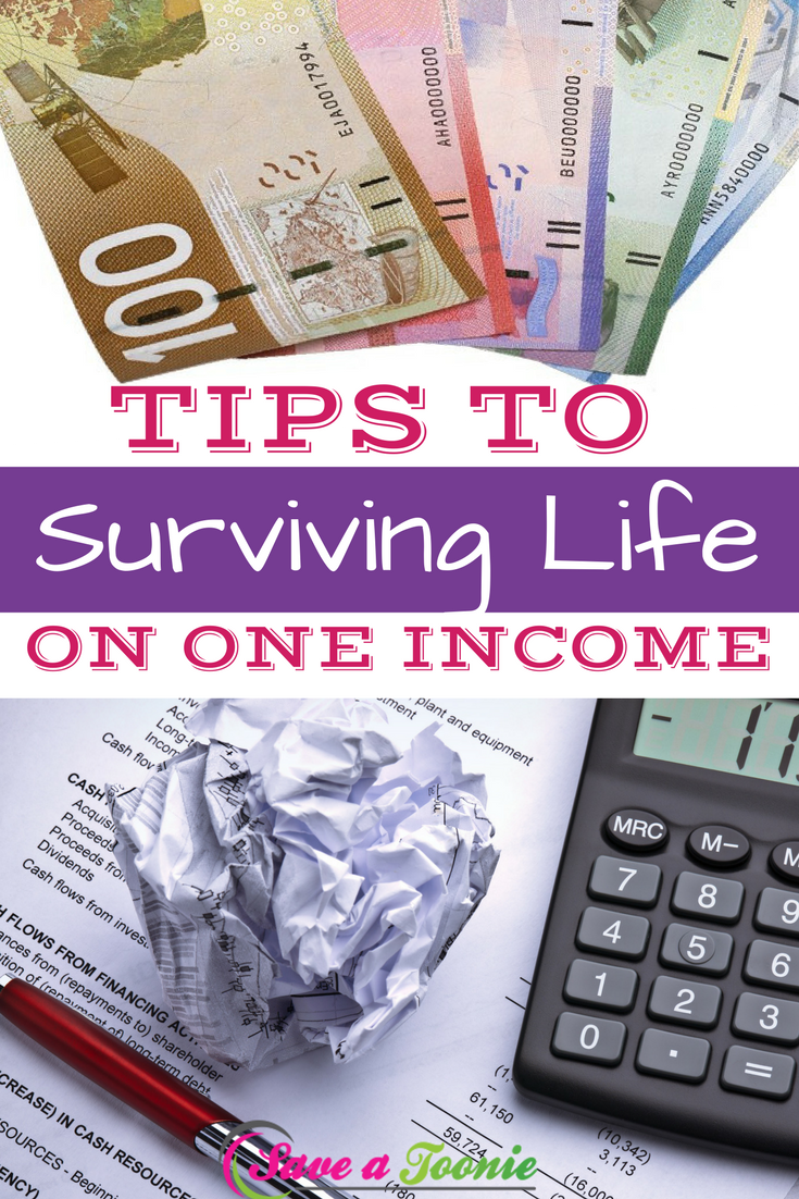 Tips to Surviving Life on One Income