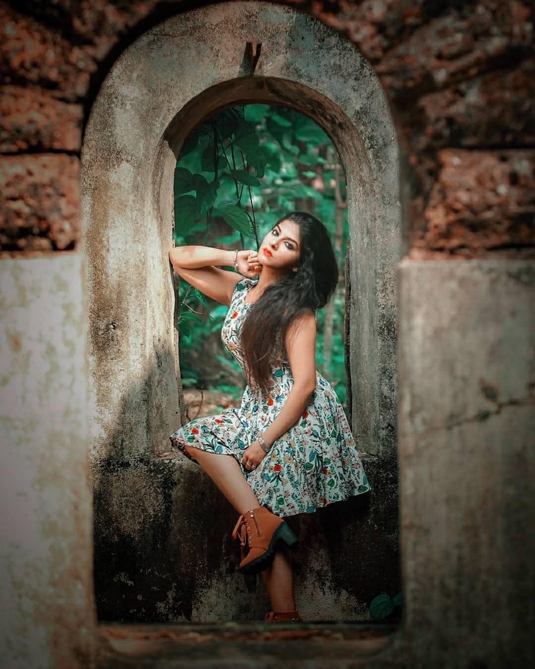 Uppum Mulakum Serial Actress Aswathy