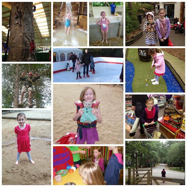 center parcs photo collage