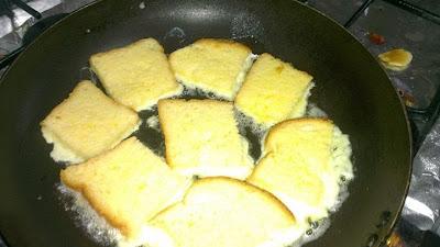 خبز التوست بالبيض