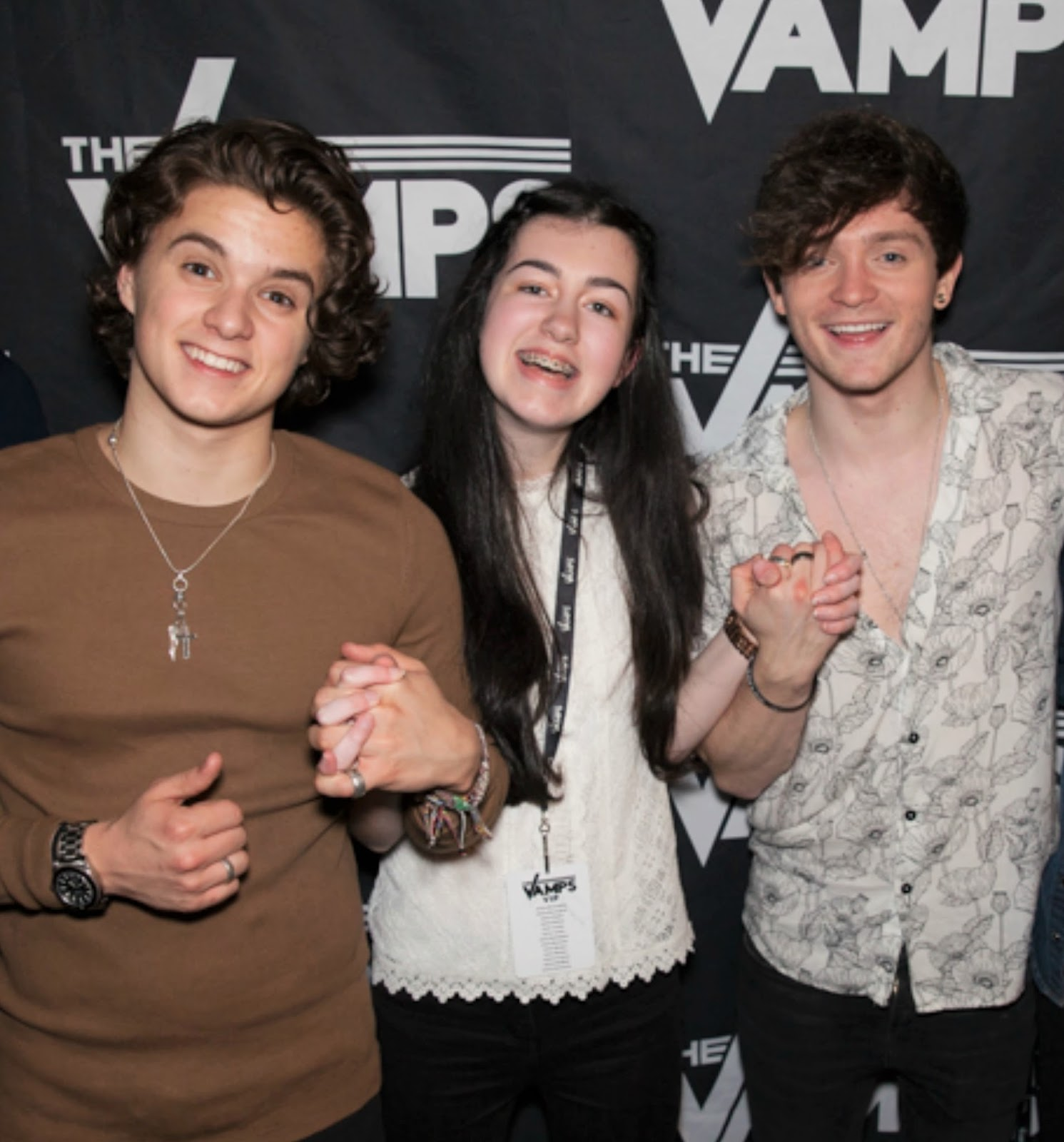 The vamps wake up tour meet and greet concert everything erin ive done the meet and greet twice now and ive loved it both times but im not sure ill do it again next time unless i got a lot more time with them m4hsunfo