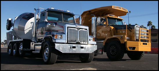 Western Star 4700SF and 6900-XD40