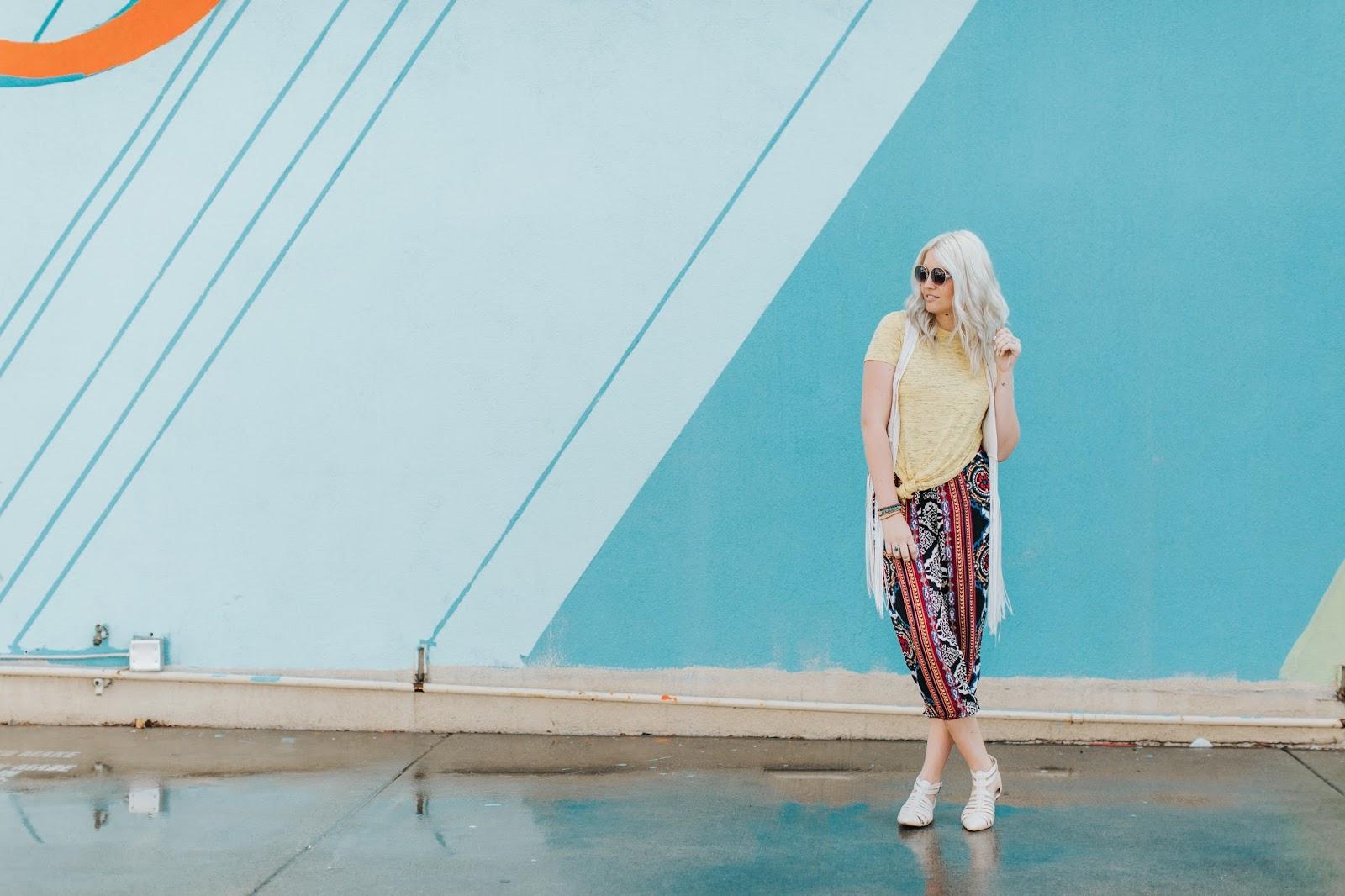 Harem Pants, Boho, Harper Trends