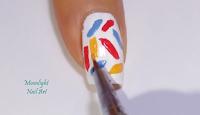 BacktoSchool - Nail - Design - Pencils - Notebook - Step by Step Tutorial- Video Tutorial - MoonlightNailArt