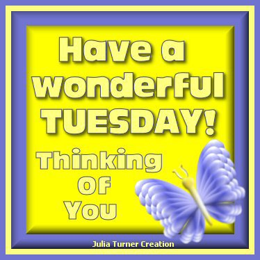 Julias Creations Wonderful Tuesday
