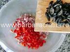 Chec aperitiv preparare reteta - adaugare masline fara samburi tocate