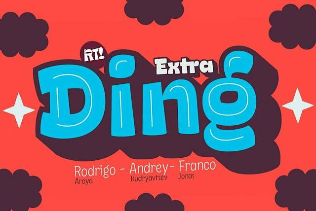 Download Ding Extra Font miễn phí trị giá 100$
