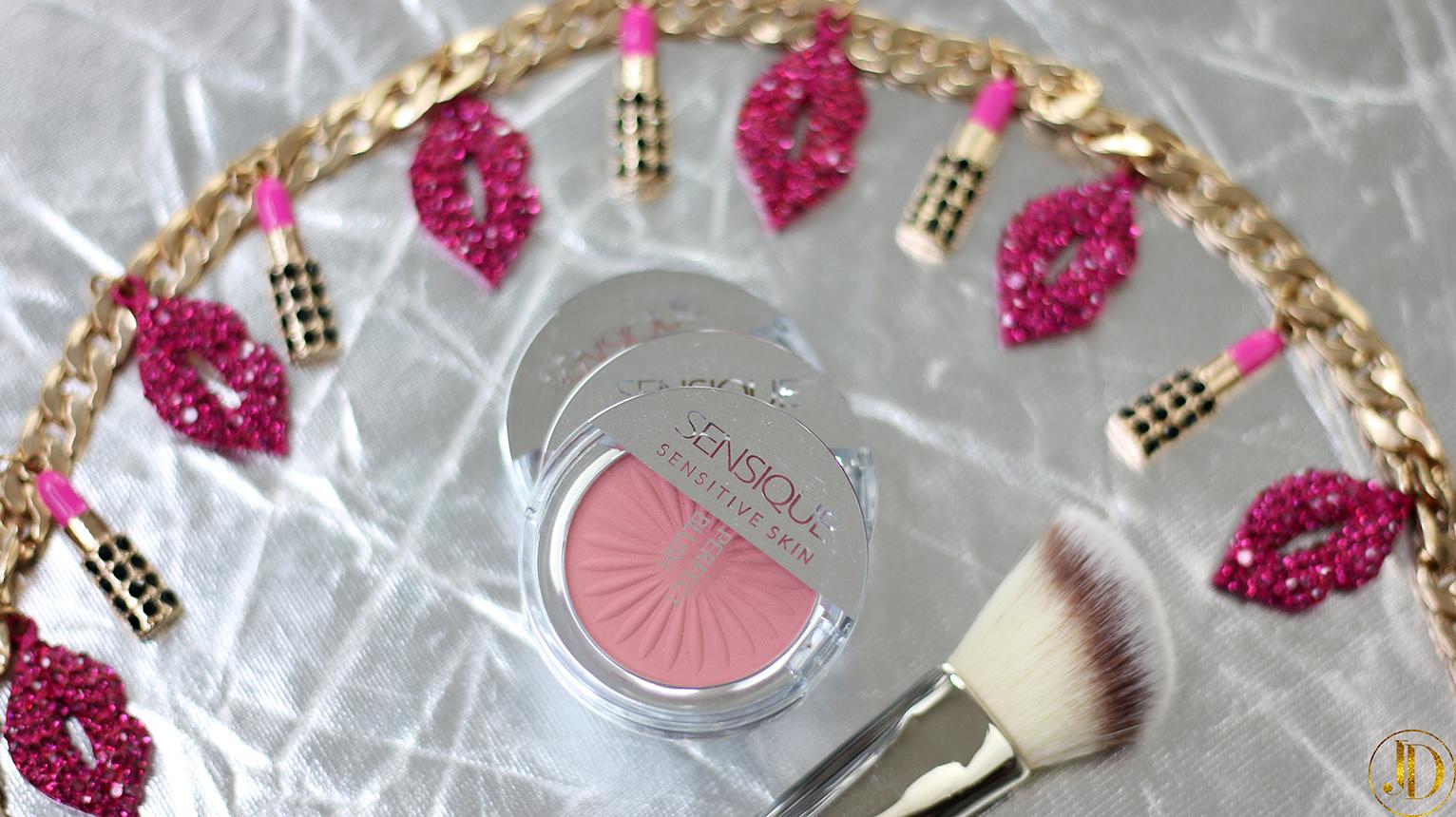 RÓŻE SĄ FAJNE! - recenzja róży od Sensqiue Perfect Blush z serii Sensitive Skin