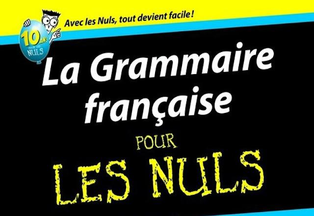 اروع كتاب للغة الفرنسية بعنوان : La Grammaire pour les nuls حمله الان