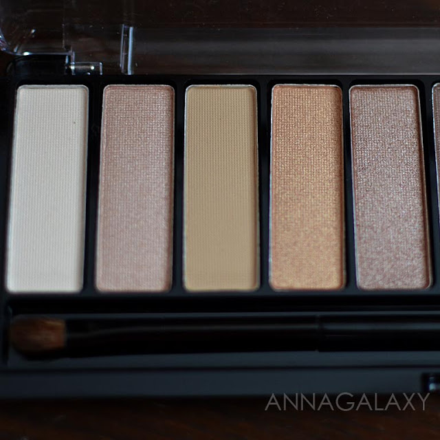 Rimmel Magnif'eyes Nude Edition Eye Palette светлые оттенки