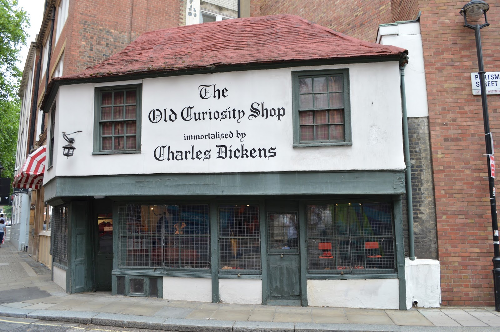 e9445e853a8 London s Historic Shops and Markets  The Old Curiosity Shop