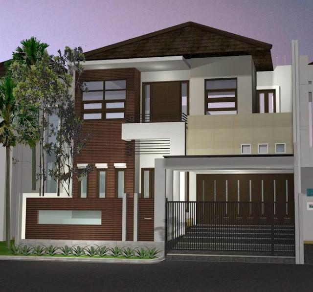 rumah kecil 2 lantai