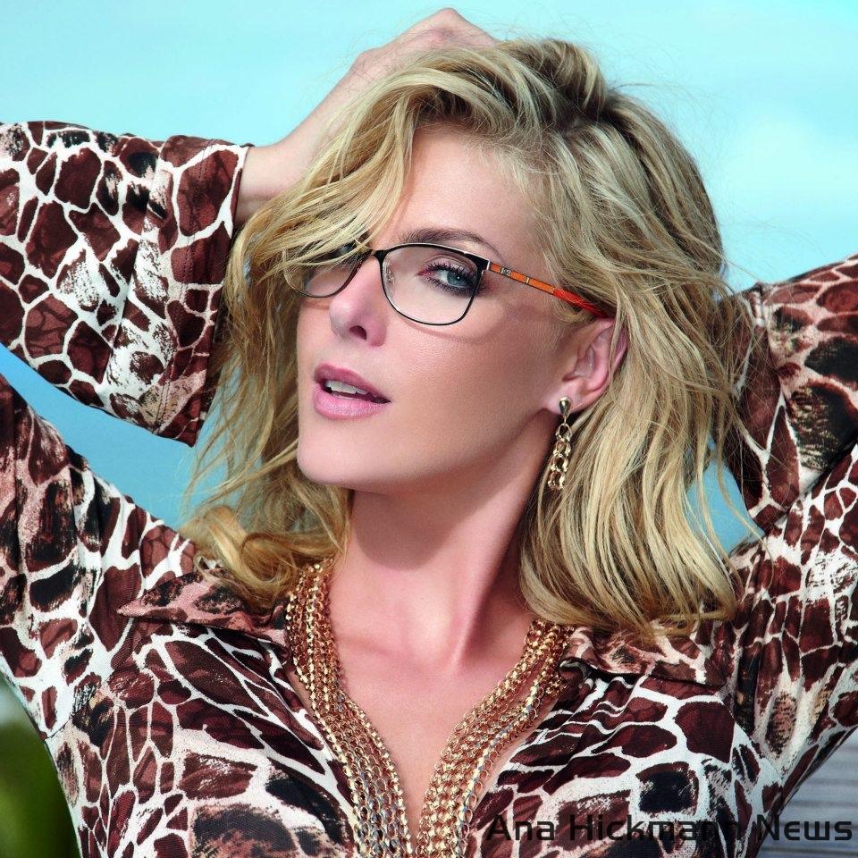 Ana Hickmann News  Ana Hickmann Eyewear Verão 2013 - Summer Gold 55fb6e202d