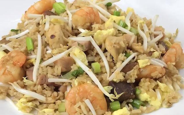 receta arroz frito cubano