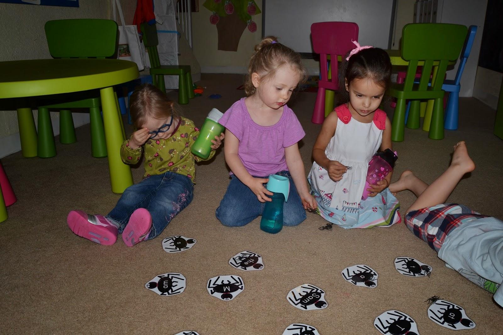 Little Adventures Preschool Spiders And Miss Muffet
