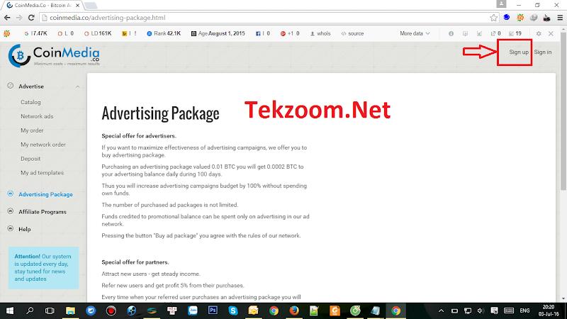 Kiếm BTC bằng cách đặt quảng cáo lên website với CoinMedia - Kiếm tiền từ CPM - Minpay : 0.004 BTC